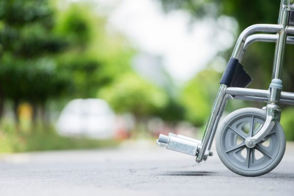 wheelchair representing injured person-law offices of edward singer