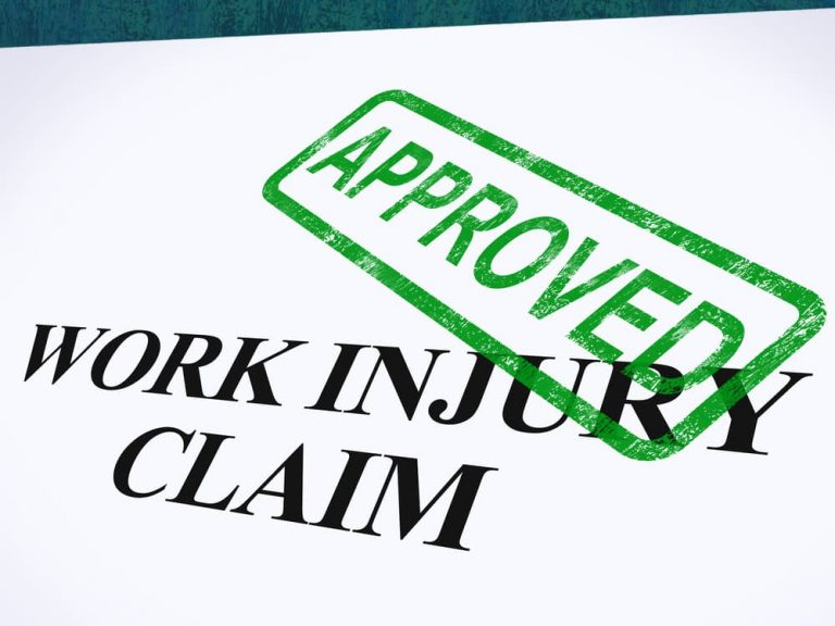 Work injury claims in California